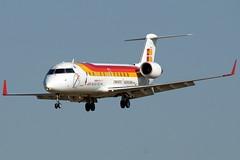 EC-IBM  CRJ200ER  IBERIA 'AIR NOSTRUM' (Antonio Doblado) Tags: barcelona elprat aircraft aviation aviacion airliner ecibm bombardier crj crj200 iberia airnostrum