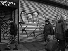 Vescr (mikeion) Tags: nyc newyorkcity blackandwhite ny newyork graffiti manhattan shutter throw vr sta fill staino vesc vescr uploadedviaflickrqcom
