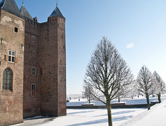 Assumborg (2) (Martin de Lusenet) Tags: winter snow holland castle netherlands 2012 kasteel heemskerk flickraward lusenet coth5