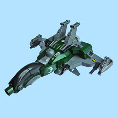 Gacchiri VT-O Fighter (Fredoichi) Tags: fighter lego space military videogames scifi spaceship shooter shootemup starfighter shmup fredoichi