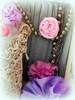 fabric flowers just for fun (AllThingsPretty...) Tags: ribbonflowers ribbonroses fabricroses