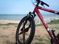 (imranbecks) Tags: park bike bicycle trek coast bikes east roks 3700 spinergy revx