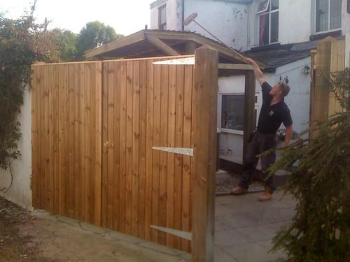 Fencing and Hot Tub Gazebo - Macclesfield Image 9