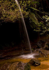 It came from Nowhere (edwinemmerick) Tags: longexposure 20d nature creek canon eos waterfall stream australia bluemountains nsw slowshutter edwin lawson emmerick edwinemmerick