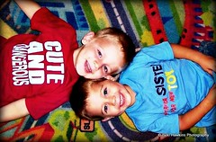 Laughin Twins (Bekiboo1323) Tags: family boy cute love beautiful smile kids children fun happy photography photo twins cheeky laugh colourful