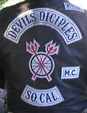 Devils Diciples Mc (motard666) Tags: green bicycle electric club gang mc angels cycle moto biker outlaws motard ec hells ecolo outriders