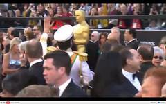 Oscar 2012 - Sacha Baron Cohen - The Dictator - pix 01