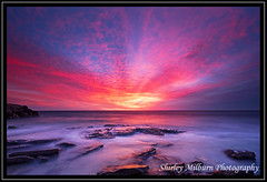 Burns Beach Sunset (Explored) (milbs1) Tags: sunset beach rock clouds australia burns perth western