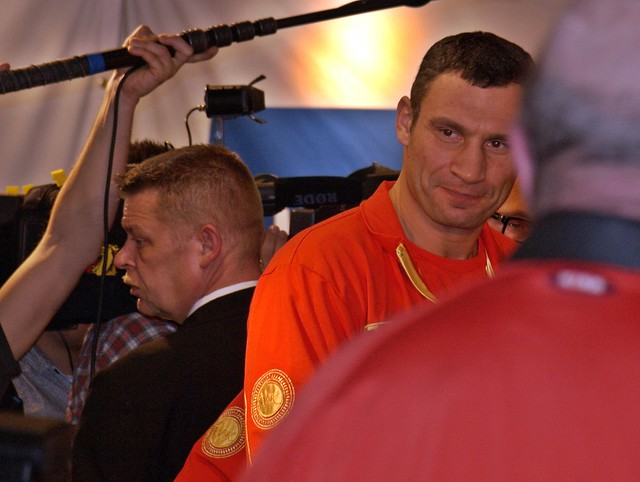 Official weigh in Klitschko vs. MORMECK