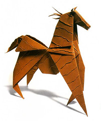Origami création - Didier Boursin - Cheval