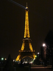 Paris: the Eiffel Tower