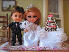 Liddle Kiddles Wedding Day (Big Red Angel) Tags: wedding miniature doll day diorama kiddles liddle