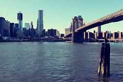 Brookyln Bridge (PV Studios) Tags: nyc newyorkcity newyork water skyline brooklyn river pier waterfront bridges brooklynwaterfront brookylnbridge