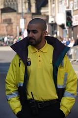 Saint Patricks Day Parade 2012 (tim ellis) Tags: uk birmingham security parade marshall stpatricksday steward irishquarter bfm0312