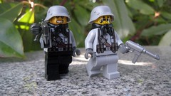 Wehrmacht (The Brick Guy) Tags: lego worldwarii hazel custom printed minifigure wehrmacht germanarmy mg42 mp40 brickarms stalhelm amazingarmory