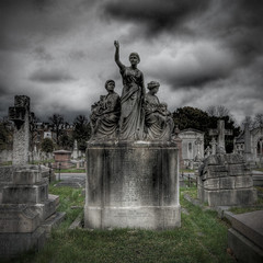Faith With Charity (violinconcertono3) Tags: london graveyard landscapes chelsea unitedkingdom fineart cityscapes earlscourt fineartphotography davidhenderson london2012 bromptoncemetery fulhamroad fineartphotographer londonphotographer 19sixty3 19sixty3com
