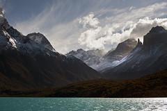 Lake Pehoé - Torres del Paine National Park - Patagonia - Chile (tigrić) Tags: chile patagonia lake mountains southamerica nature landscape ngc npc torresdelpainenationalpark magallanesregion lakepehoé photographyforrecreation
