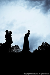 William Farel silhouette (Charles Lupica) Tags: switzerland europe places neuchatel guillaumefarel 01people williamfarel 01categorized 03category cityofneuchatel collegialedeneuchatel