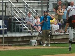 (mestes76) Tags: sports minnesota baseball broadcasting duluth videocameras cameramen webcast duluthhuskies wadestadium 073011