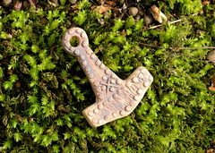 Thor's Hammer (Thorskegga) Tags: thor thors hammer amulet symbol heathen heathenry england english britain uk british asatru pagan norse viking myth mythology protective