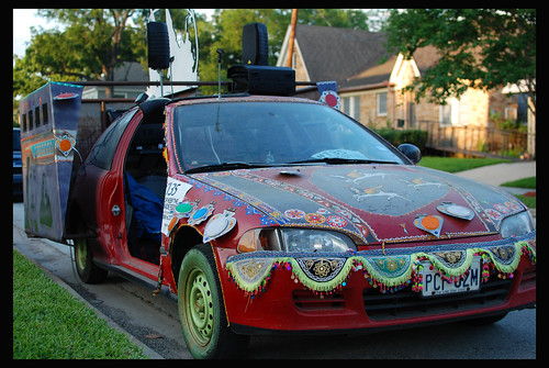 VBB's art car Revolution