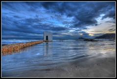 Calpe III (canonixus1) Tags: sky azul atardecer noche agua playa arena nubes angular hdr calpe ifach sigma1020 rememberthatmomentlevel1 rememberthatmomentlevel2 rememberthatmomentlevel3 canonixus1