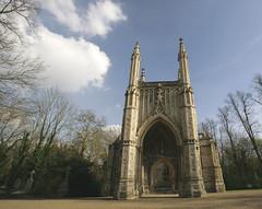 The Chapel @ Nunhead (Adam Swaine) Tags: uk england building london english canon britain gothic chapel nunhead 2014 cemetries swaine wwwadamswainecouk