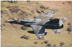French Air Force Mirage F1 (Ben_Gilbert1) Tags: wales speed plane french flying nikon fighter force loop air low jet royal fast f1 300mm level land mirage tornado loud raf lowlevel d300 faf fighterjet panavia royalairforce gr4 lowflying machloop lowfly frenchairforce lfa7