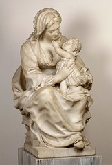 Lucas Fayd'herbe, Madonna mit dem Kind / Virgin and Child