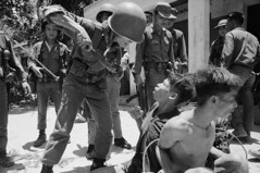 U1515002 (i_alcocer) Tags: people men soldier holding war asia southeastasia vietnamese asians threatening military fear knife battle vietnam several violence males adults bound armedforces vietcong southvietnam southeastasians militarypersonnel historicevent asianhistoricalevent northamericanhistoricalevent unitedstateshistoricalevent vietnamwar19591975 vietnamesehistoricalevent hostility republicofvietnam armyoftherepublicofvietnam southvietnamesearmedforces thanhquit quangnamprovince southcentralcoastregion