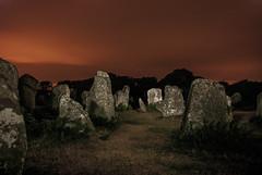 DSC_2274 (siebertfrederic) Tags: bretagne exposition nuit menhir longue erdeven kerzhero