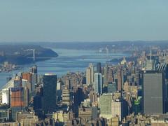 New York, NY Views from the One World Observatory (army.arch) Tags: nyc newyorkcity ny newyork observation deck hudsonriver georgewashingtonbridge 1worldtradecenter oneworldtradecenter oneworldobservatory