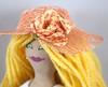 Blonde Summer Girl Doll (joellesdolls) Tags: artdoll handmadedoll handmadetoy toydoll blondedoll summergirl joellesdolls blondegirldoll dollinpeachclothes peachdollclothes