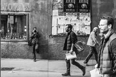Autoritratto in Tre (Matteo Crema) Tags: street portrait people reflection self strada autoritratto tre belluno riflesso
