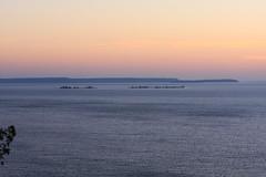 IMG_7037 (sjj62) Tags: sunset seascape doorcounty sunsetting doorcountywi 40d ellisonbaywi ellisonbluffstatenaturalarea