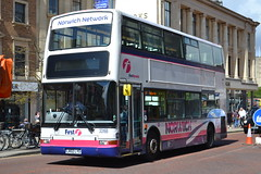 First Norwich 33168 LR02LYG (Will Swain) Tags: norwich 14th may 2016 bus buses transport travel uk britain vehicle vehicles county country england english south east city centre norfolk anglia first 33168 lr02lyg london