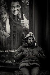 (Stevenchen912) Tags: bw composition contrast blackwhite candid humor streetportrait streetscene human streetphoto urbanlife streetfavorites