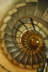 going down (duckydoo) Tags: paris stone stairs arcdetriomphe circular