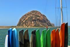 Morro Rock (David K. Edwards) Tags: seascape bay monolith seashore slo morro morrorock phuggut