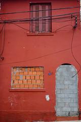 Blocked (marcelo_valente) Tags: street door houses red brazil house color abandoned broken window architecture ruins colorful decay ruin fujifilm locked prohibited banned abandonada arquiteta xphotographer xe2 sealedup myfujifilm fujixe2 fujifilmxe2