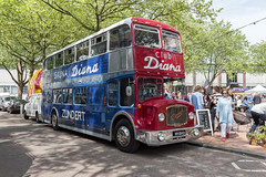 Club Diana (R. Engelsman) Tags: clubdiana diana zundert bus doubledecker dubbeldekker bristol katendrecht rotterdam 1956 vehicle deliplein car transport 010 automotive