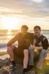 DSC_0177-2 (sergeysemendyaev) Tags: sunset sea storm beach spring warm waves russia dusk adler atthebeach seashore blacksea seacoast bigwaves sochi  2016                 duringf1 1 duringformulaone