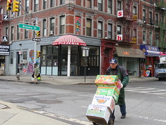 Space Invader NY_156 (tofz4u) Tags: street nyc people usa streetart ny newyork tile mosaic unitedstatesofamerica spaceinvader spaceinvaders invader leonardo pizzeria rue ninjaturtle mosaque artderue tatsunis tortueninja ny156