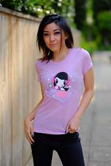 """""""DJ Lolligag & Mixmaster Moot"""" T-shirt (Lolligag World) Tags: dj tshirt kawaii tee mixmaster tees hiphip lolligag"""