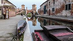 Il ritorno (johnfranky_t) Tags: t lumix barca ponte arco canale torri ombrellone tz40 johnfranky