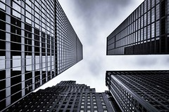 [From the Series: New York City] (Thomas Bonfert) Tags: city nyc lines architecture skyscrapers