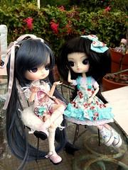 Tea party  (Pliash) Tags: girls cute doll dal ciel kawaii groove pullip