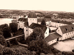 P5280497adftt (photos-by-sherm) Tags: museum germany spring high panoramic views fortifications defensive veste hilltop passau oberhaus