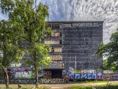 Abandoned House (KonHenrik) Tags: d7100 kbenhavn amager danmark denmark copenhagen 2016 hdr 1024