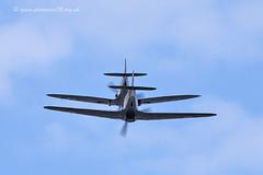 9804 BBMF (photozone72) Tags: canon aviation hurricane spitfire raf cleethorpes airshows armedforcesday bbmf p7350 lf363 canon100400mmf4556l rafbbmf 7dmk2 canon7dmk2